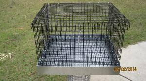 18 x 20 travel cage 14 in overall height, 12 in interior all vinyl 45.00