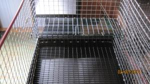 great for small rabbits kept inside, has self for animals $57.50