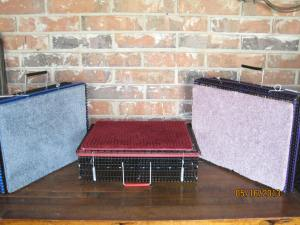 Grooming Box multiple colors  18 w x 14 d x 5 h with divider  $27.50