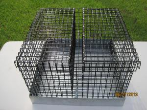 Two Hole Double opening top 2 inch hay slot middle 18 W x 18 L x 10 H $52.50
